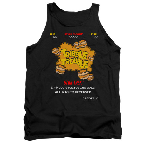Image for Star Trek Tank Top - Tribble Trouble Video Game