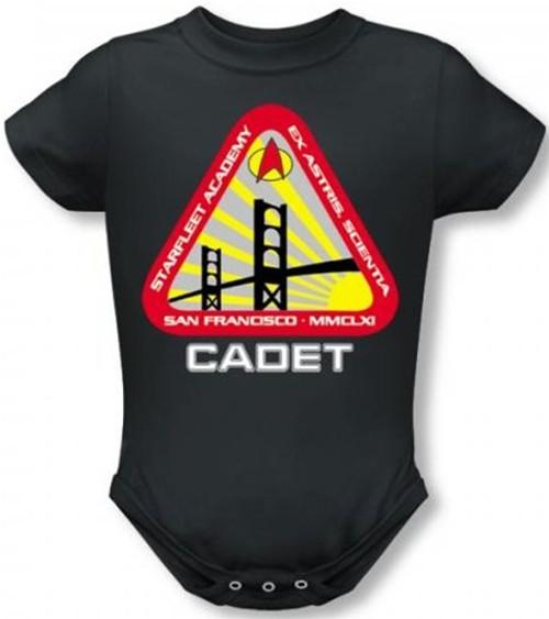 Star Trek Baby Creeper - Starfleet Academy Logo