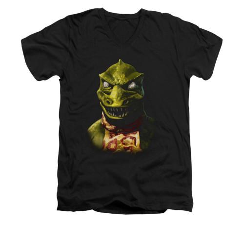 Image for Star Trek V Neck T-Shirt - Gorn Bust