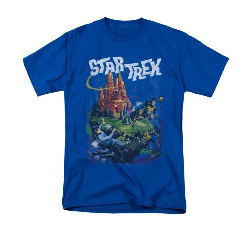 Image for Star Trek T-Shirt - Vulcan Battle