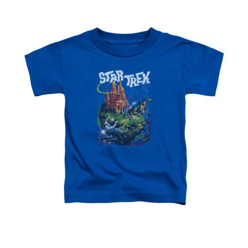 Image for Star Trek Toddler T-Shirt - Vulcan Battle
