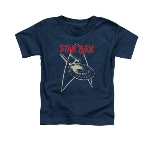 Image for Star Trek Toddler T-Shirt - Ship Symbol