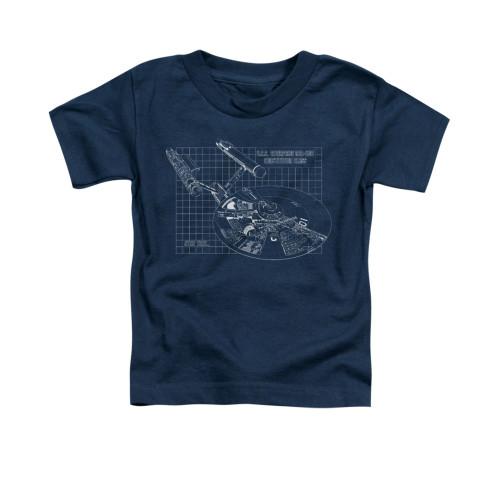 Image for Star Trek Toddler T-Shirt - Enterprise Prints
