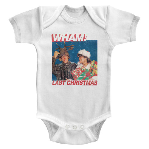 Image for Wham! Last Christmas Lyrics Infant Baby Creeper