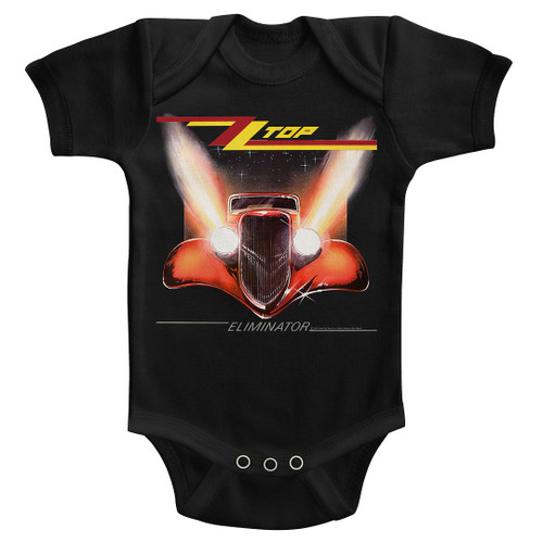 Image for ZZ Top Eliminator Cover Infant Baby Creeper