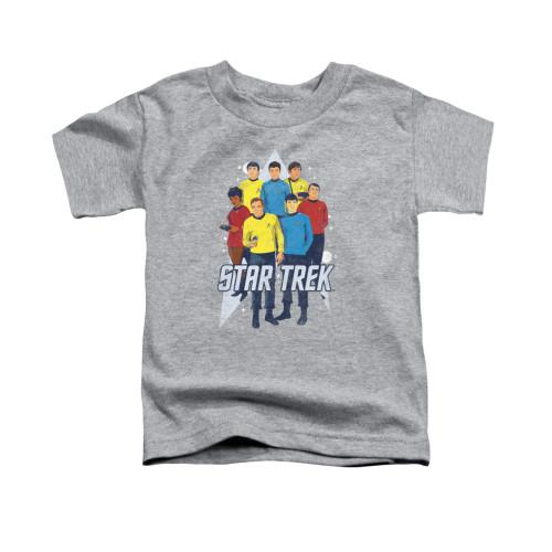 Image for Star Trek Toddler T-Shirt - Here Here