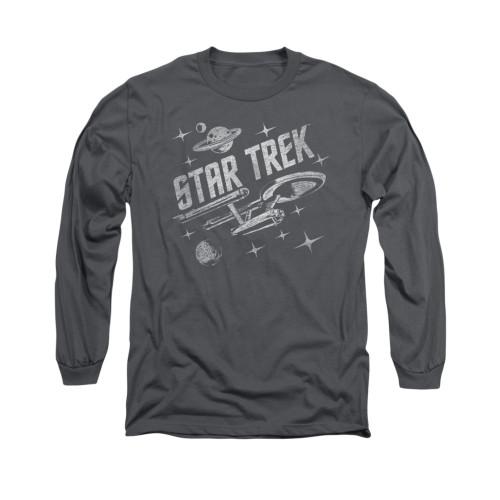 Image for Star Trek Long Sleeve Shirt - Through Space