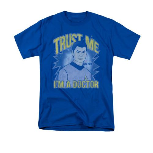 Image for Star Trek T-Shirt - Trust Me.  I'm a Doctor