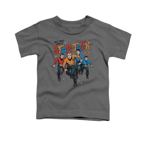 Image for Star Trek Toddler T-Shirt - Deep Space Thrills