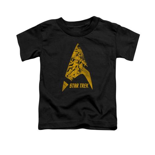 Image for Star Trek Toddler T-Shirt - Delta Crew