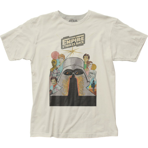 Image for Star Wars T-Shirt - ESB Marker Poster