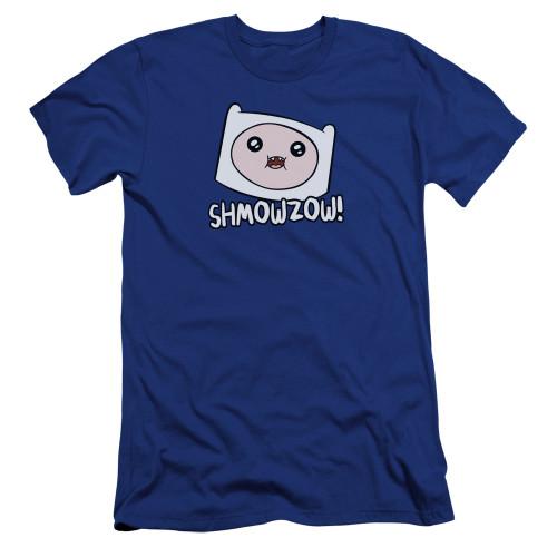 Image for Adventure Time Premium Canvas Premium Shirt - Shmowzow