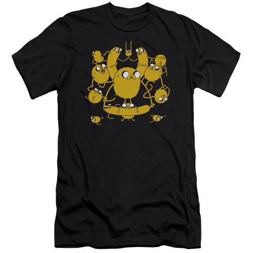 Image for Adventure Time Premium Canvas Premium Shirt - Jakes