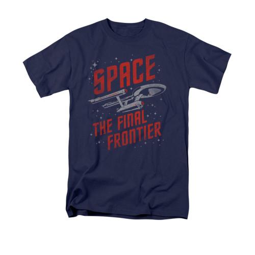 Image for Star Trek T-Shirt - Space Travel