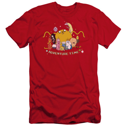 Image for Adventure Time Premium Canvas Premium Shirt - Outstretched