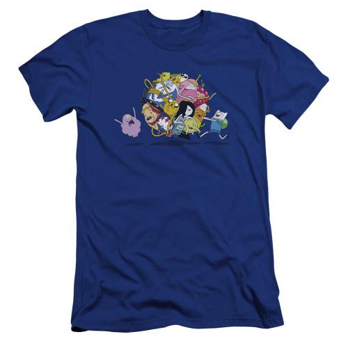 Image for Adventure Time Premium Canvas Premium Shirt - Glob Ball