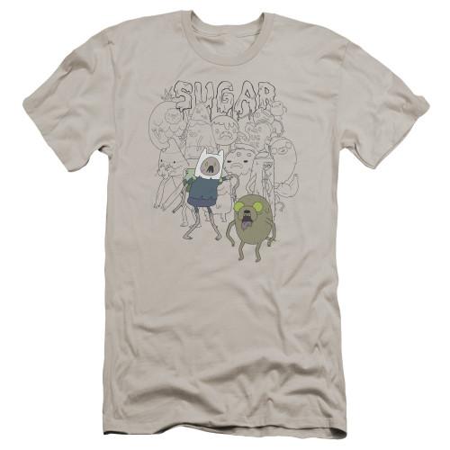 Image for Adventure Time Premium Canvas Premium Shirt - Sugar Zombies