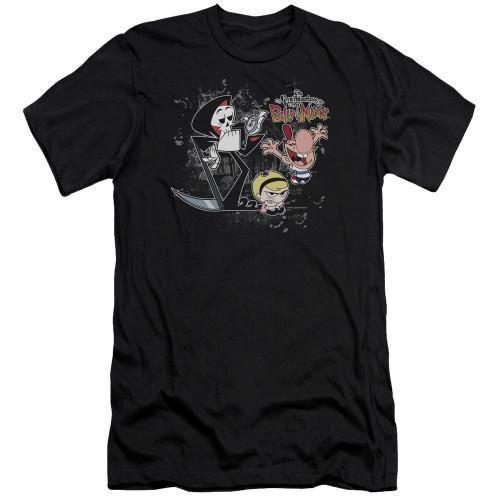 Image for The Grim Adventures of Billy and Mandy Premium Canvas Premium Shirt - Splatter Cast