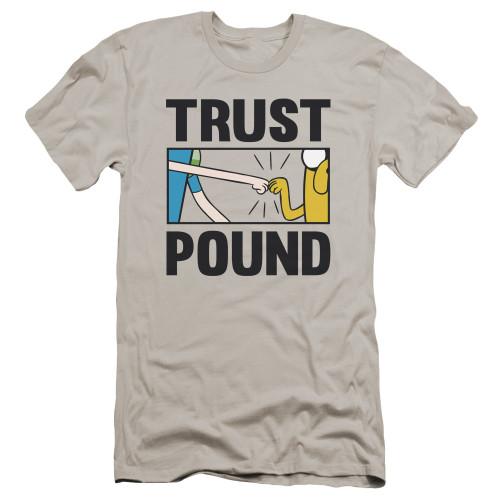 Image for Adventure Time Premium Canvas Premium Shirt - Trust Pound
