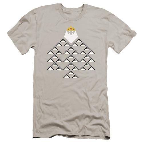 Image for Adventure Time Premium Canvas Premium Shirt - Ice King Triangle
