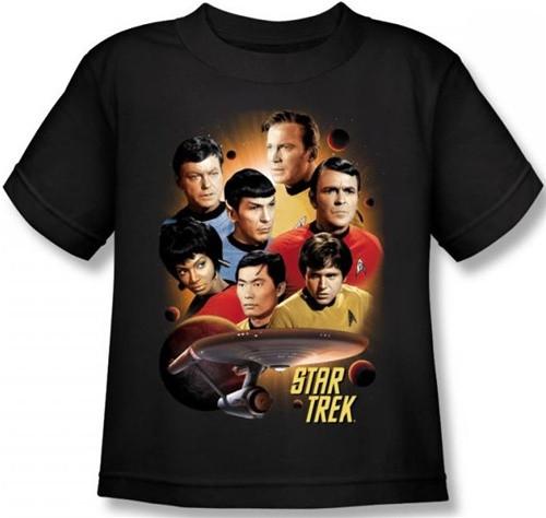 Image for Star Trek Kids T-Shirt - Heart of the Enterprise