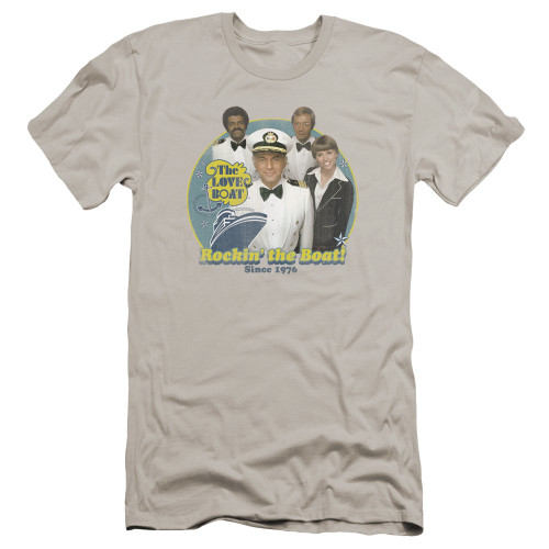 Image for The Love Boat Premium Canvas Premium Shirt - Rockin' the Boat