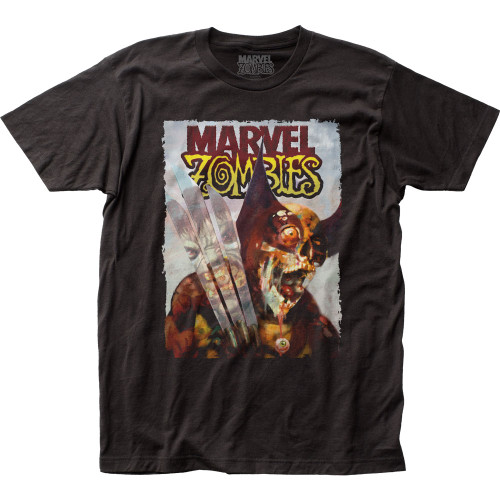 Image for Marvel Zombies T-Shirt - Wolverine vs. Hulk