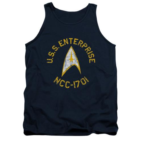 Image for Star Trek Tank Top - Collegiate