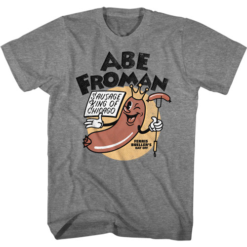 Image for  Ferris Bueller's Day Off T-Shirt - Abe