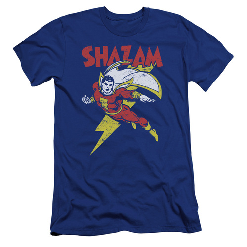 Image for Shazam Premium Canvas Premium Shirt - Lets Fly