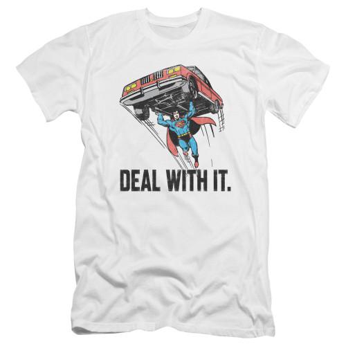 Image for Superman Premium Canvas Premium Shirt - Deal With It
