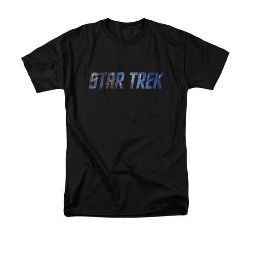 Image for Star Trek T-Shirt - Space Logo