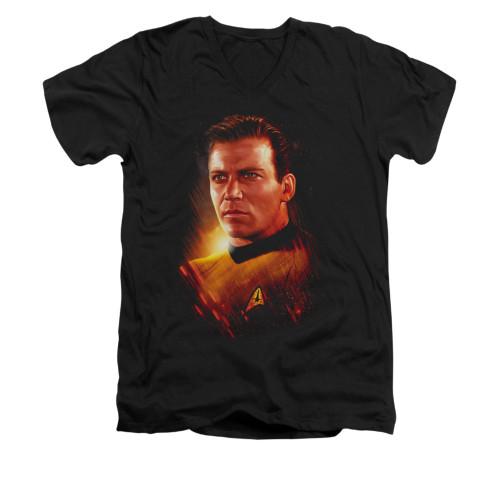 Image for Star Trek V Neck T-Shirt - Epic Kirk