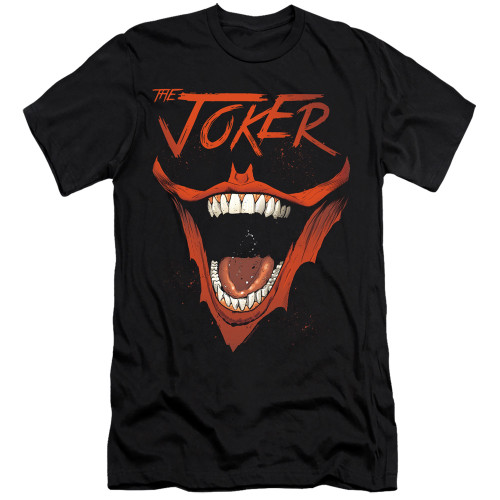 Image for Batman Premium Canvas Premium Shirt - Joker Bat Laugh