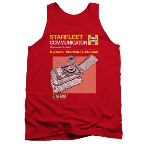 Image for Star Trek Tank Top - Haynes Communicator Owners Manual