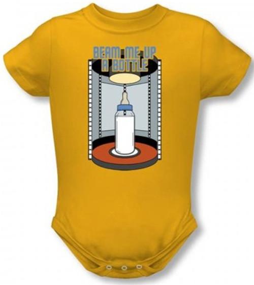 Image for Star Trek Baby Creeper - Beam Me Up A Bottle