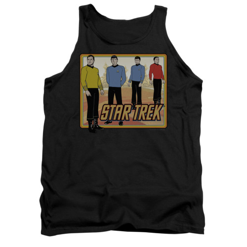 Image for Star Trek Tank Top - Classic Animated Crew