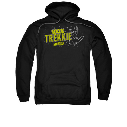 Image for Star Trek Hoodie - 100% Trekkie