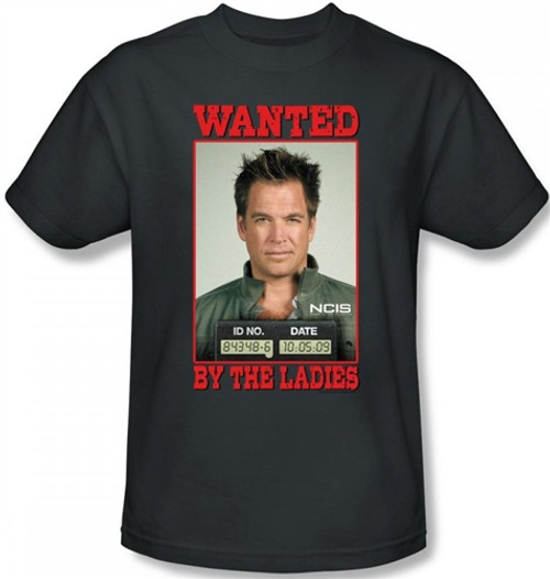 Image Closeup for NCIS Wanted by the Ladies T-Shirt