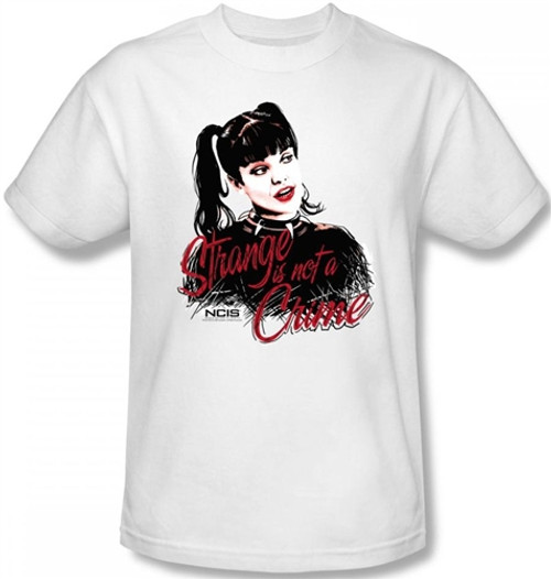 Image Closeup for NCIS Abby Strange is Not a Crime T-Shirt