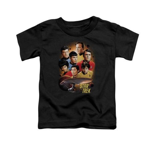 Image for Star Trek Toddler T-Shirt - Heart of the Enterprise