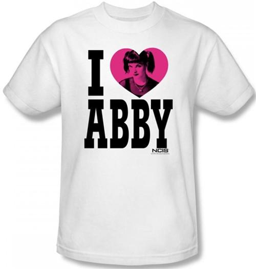 Image Closeup for NCIS I Heart Abby T-Shirt