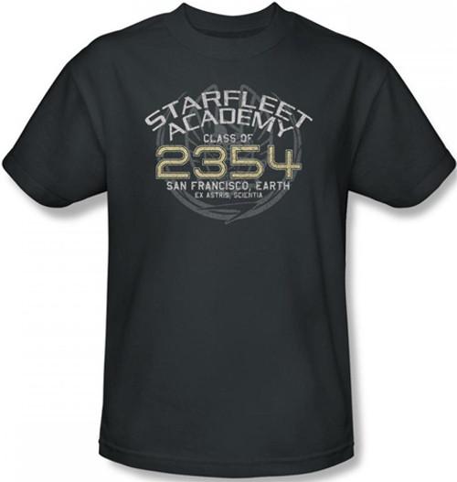 Image Closeup for Star Trek T-Shirt - Starfleet Academy Sisko Graduation