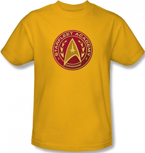 Image Closeup for Star Trek T-Shirt - Starfleet Academy Command