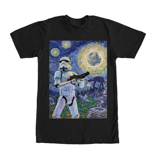 Image for Star Wars Stormy Night T-Shirt
