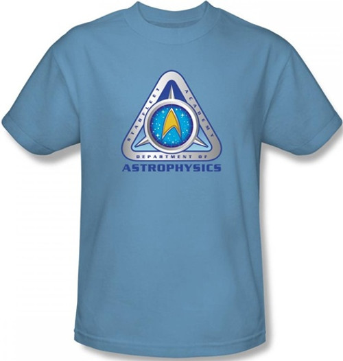 Image Closeup for Star Trek T-Shirt - Starfleet Academy Astrophysics
