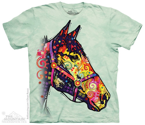 Image for The Mountain T-Shirt - Funky Horse