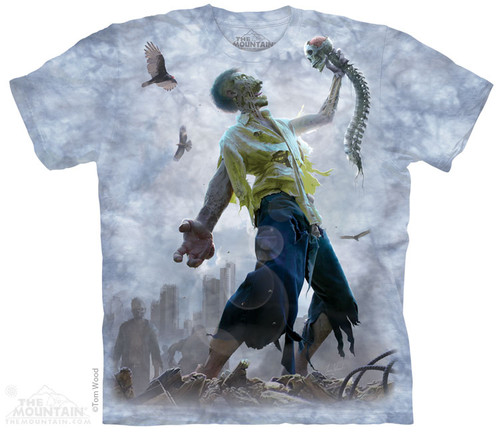 Image for The Mountain T-Shirt - Zombie Scraps