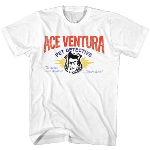 Image for Ace Ventura Pet Detective T-Shirt - Business Card
