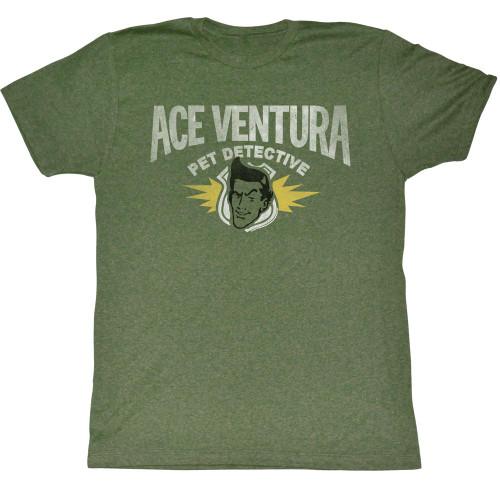 Image for Ace Ventura Pet Detective T-Shirt - Letterhead